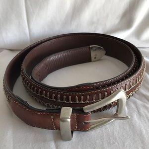 Fossil brown men's belt Sz 42